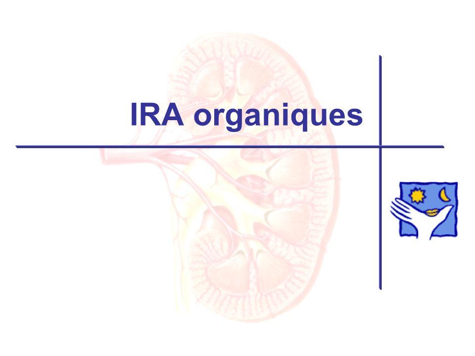 IRA organiques