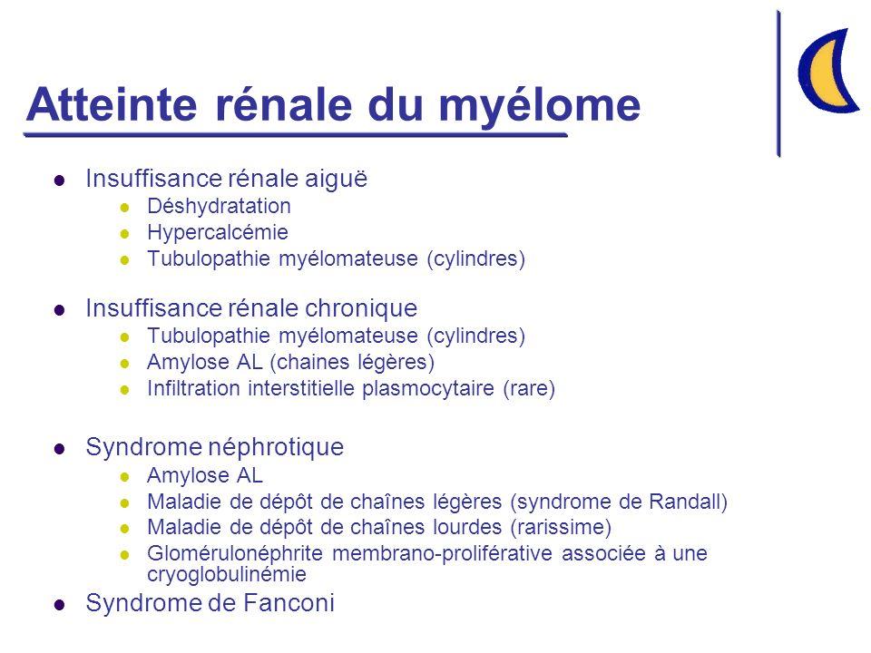Atteinte rénale du myélome