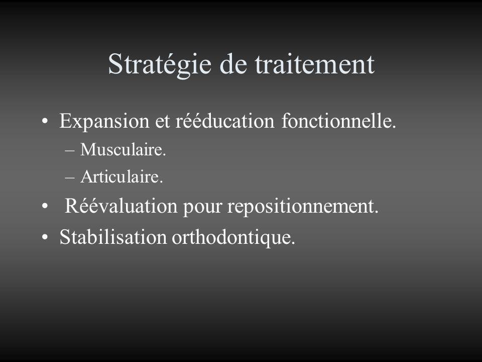 Stratégie de traitement