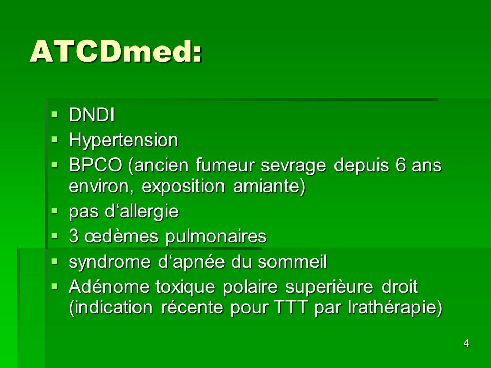 ATCDmed: DNDI Hypertension