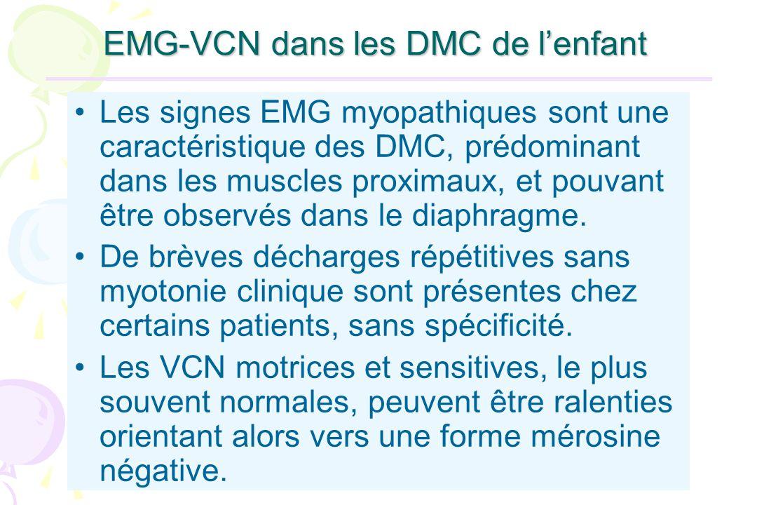EMG-VCN dans les DMC de l'enfant
