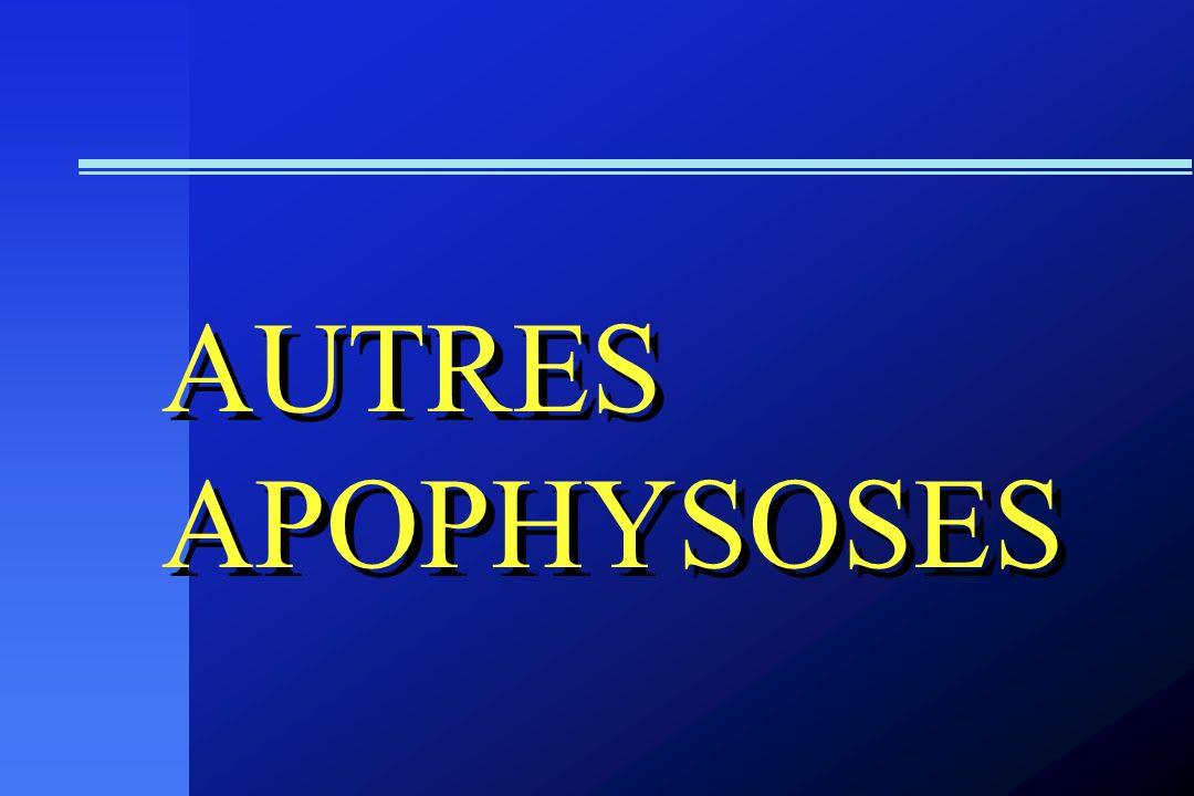 AUTRES APOPHYSOSES