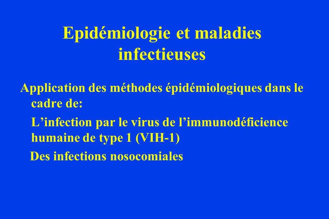 Epidémiologie et maladies infectieuses