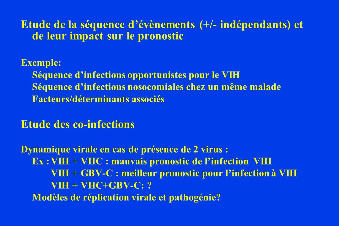 Etude des co-infections