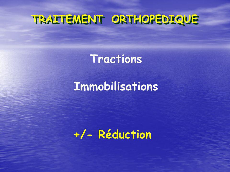 Tractions Immobilisations