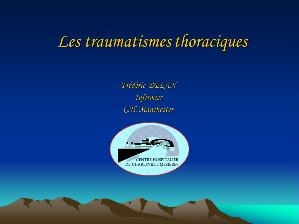 Les traumatismes thoraciques