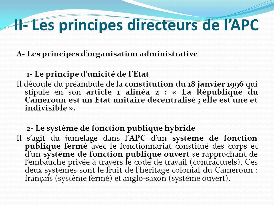 II- Les principes directeurs de l'APC