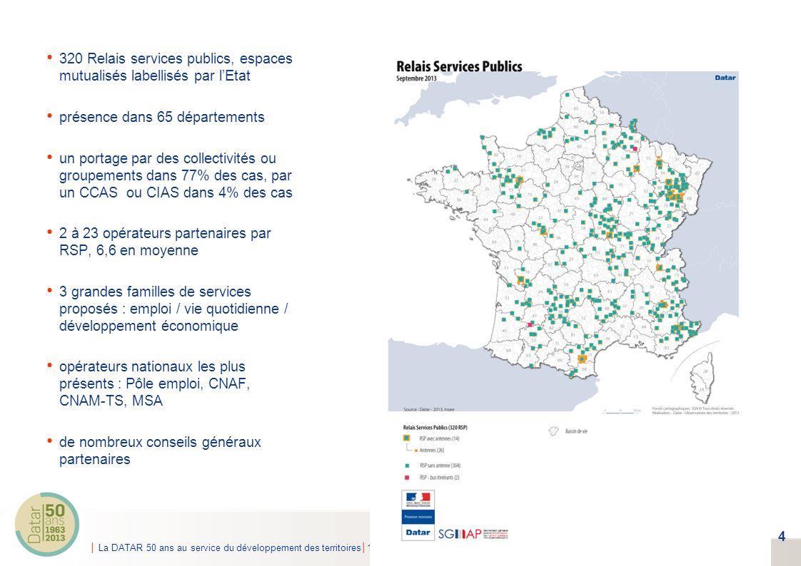 320 Relais services publics, espaces mutualisés labellisés par l'Etat