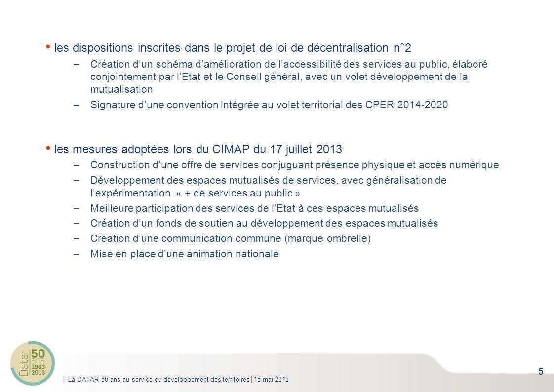 les mesures adoptées lors du CIMAP du 17 juillet 2013