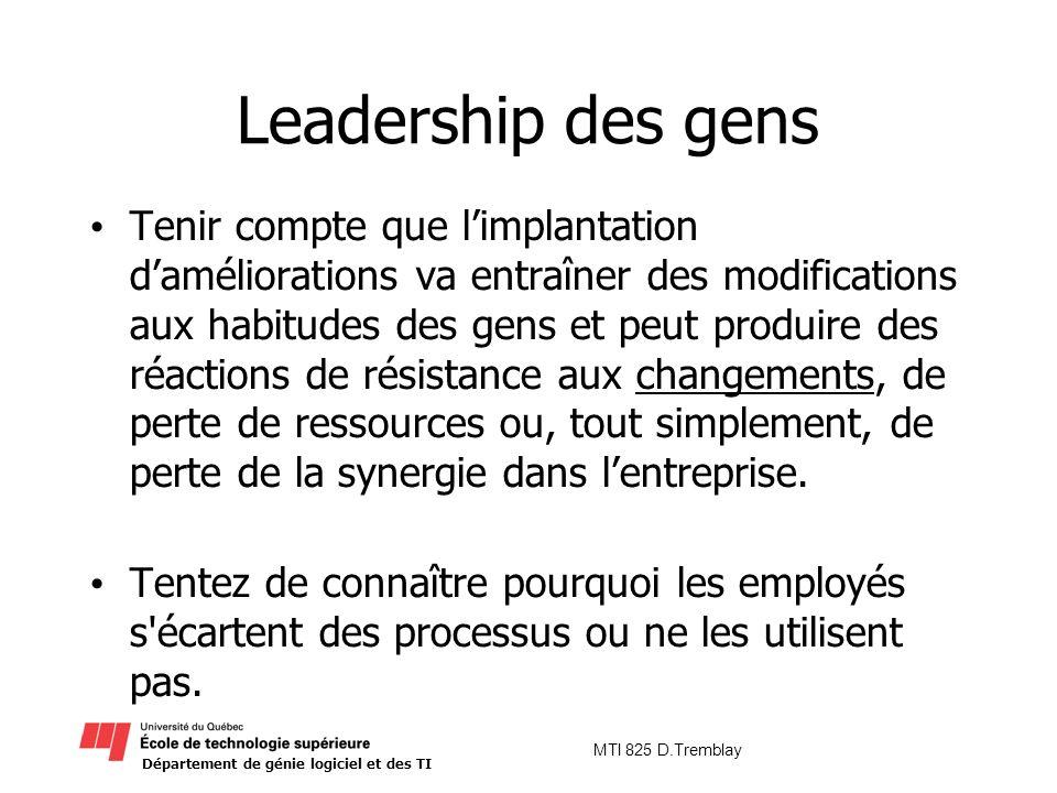 Leadership des gens
