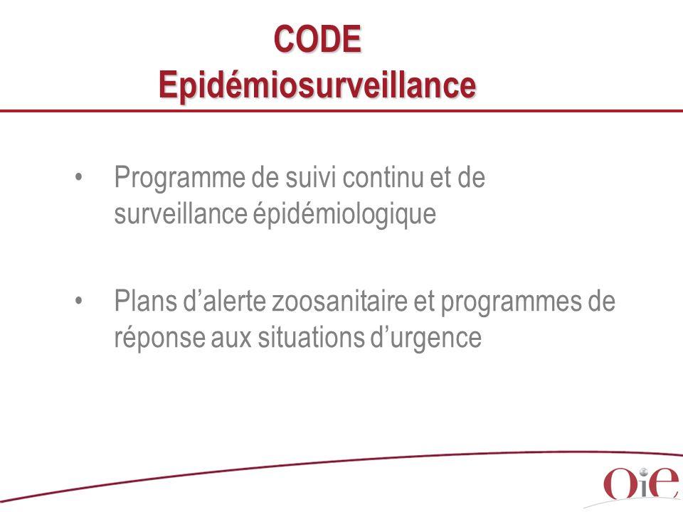CODE Epidémiosurveillance