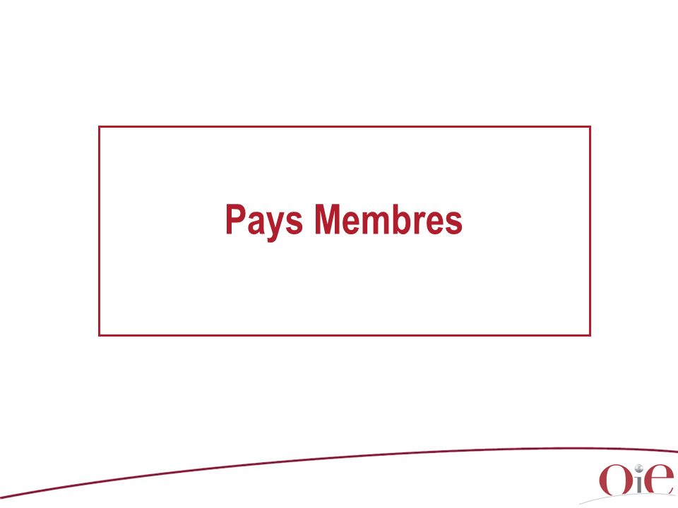 Pays Membres Comments (with copyright) / Commentaires (soumis au Copyright) :