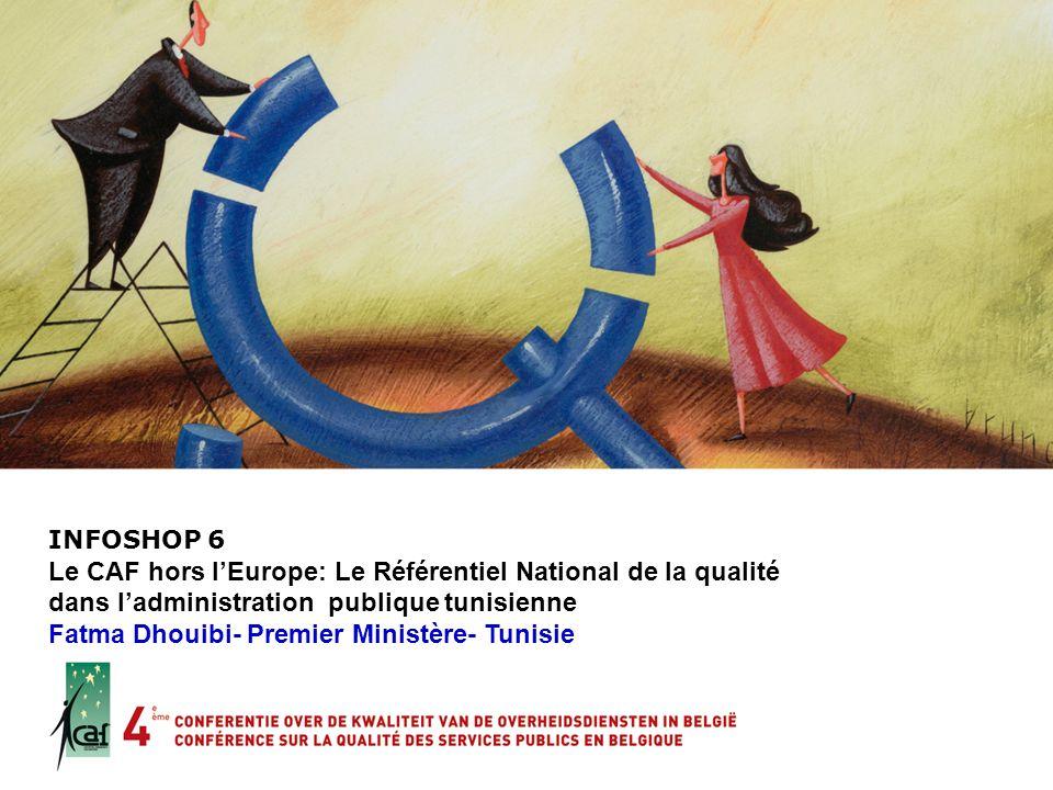 Le CAF hors l'Europe: Le Référentiel National de la qualité