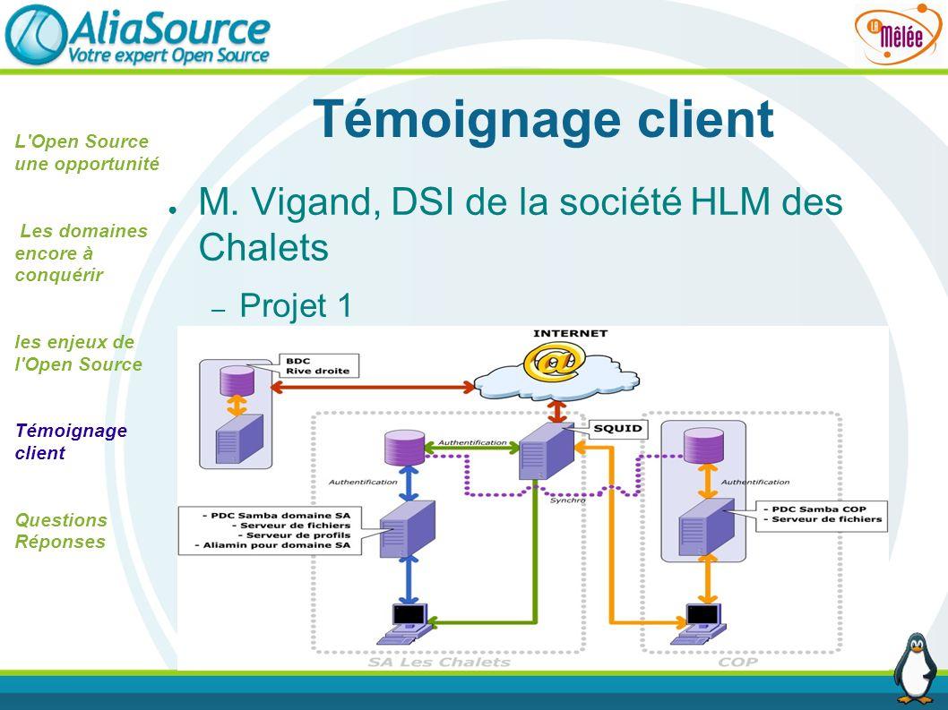 Témoignage client M. Vigand, DSI de la société HLM des Chalets