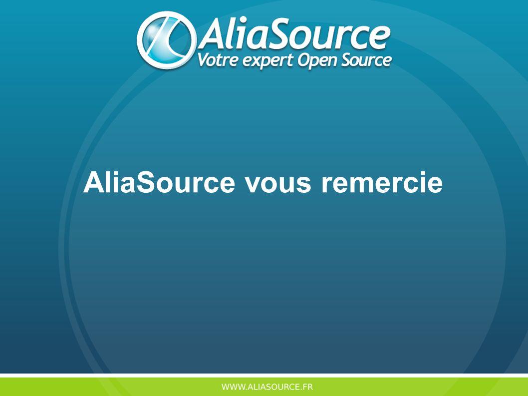 AliaSource vous remercie