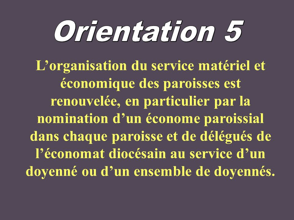 Orientation 5