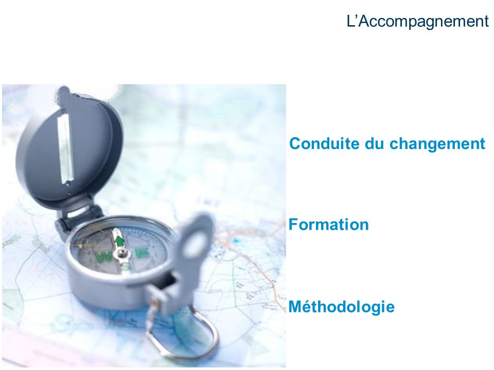 L'Accompagnement Conduite du changement Formation Méthodologie