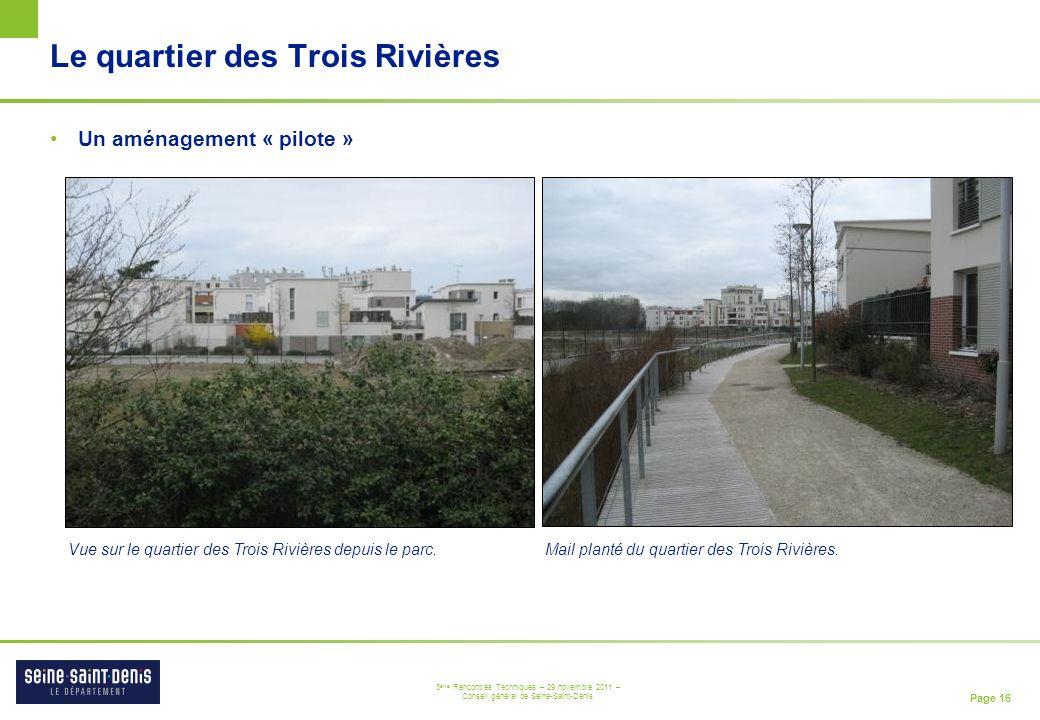Le quartier des Trois Rivières