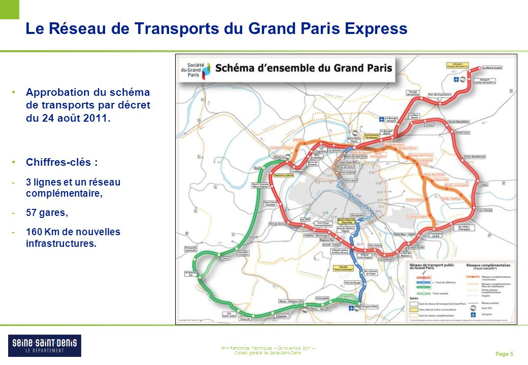 Le Réseau de Transports du Grand Paris Express