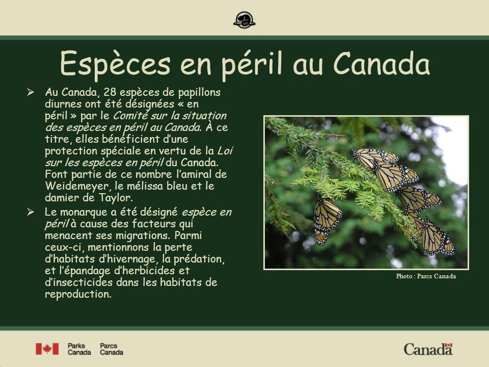 Espèces en péril au Canada