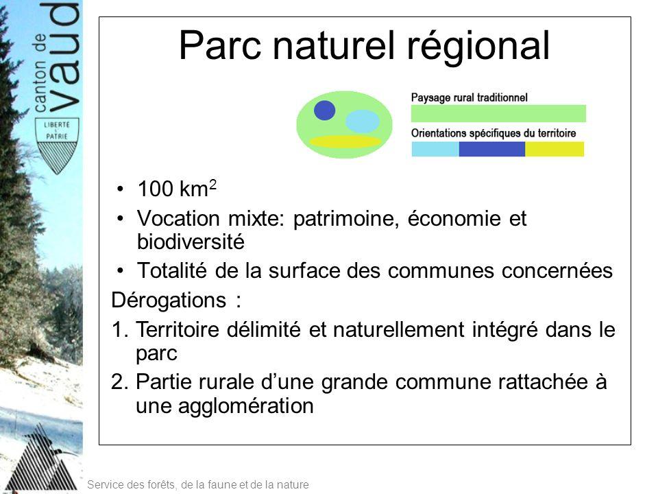 Parc naturel régional 100 km2