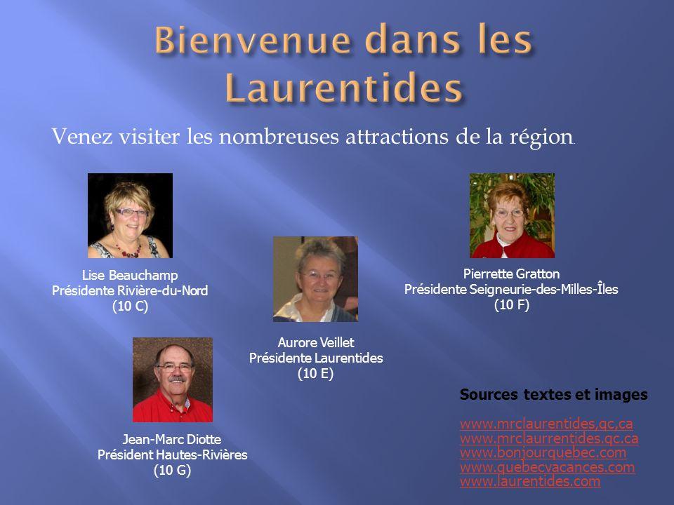 Bienvenue dans les Laurentides
