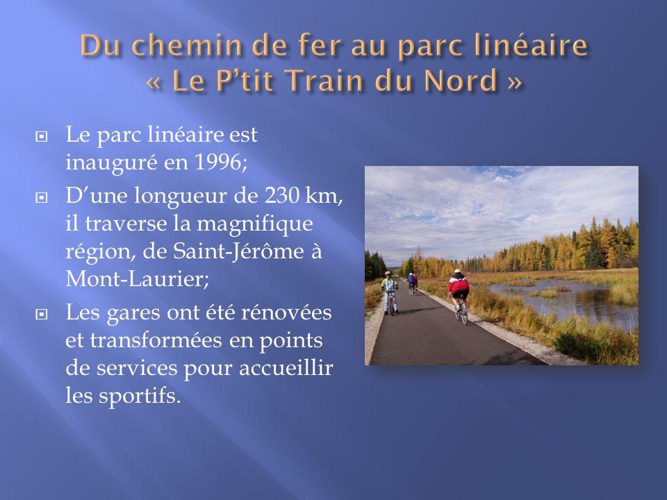 Du chemin de fer au parc linéaire « Le P'tit Train du Nord »