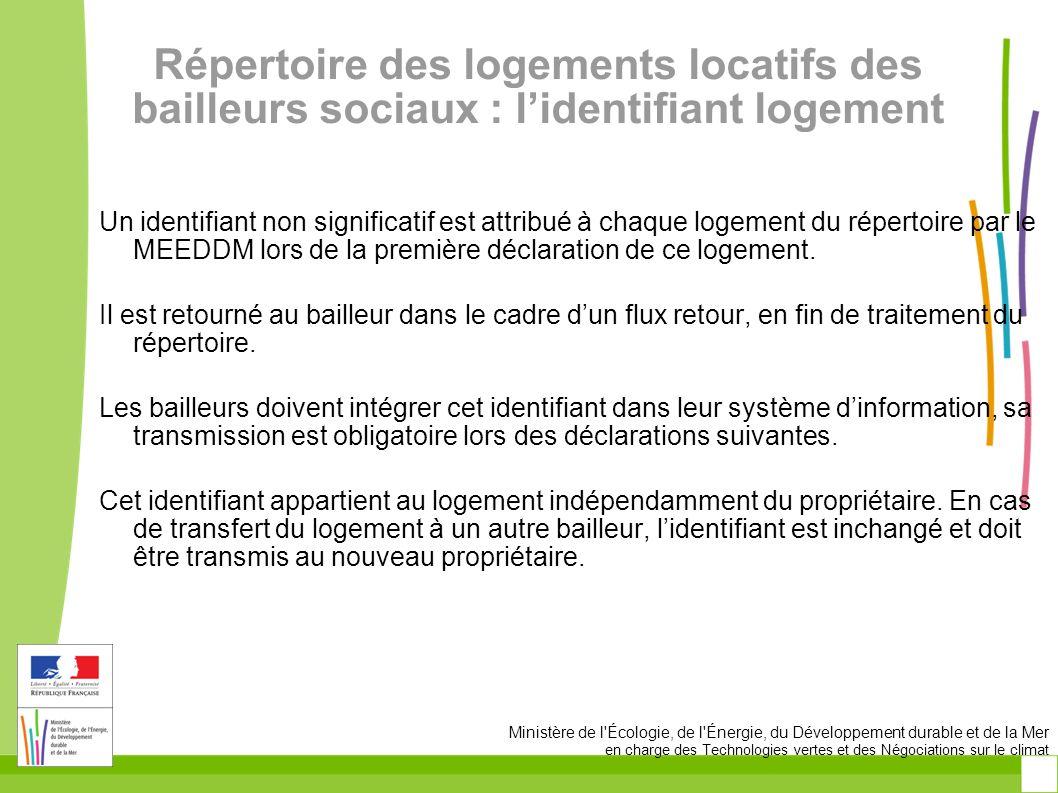 Répertoire des logements locatifs des bailleurs sociaux : l'identifiant logement