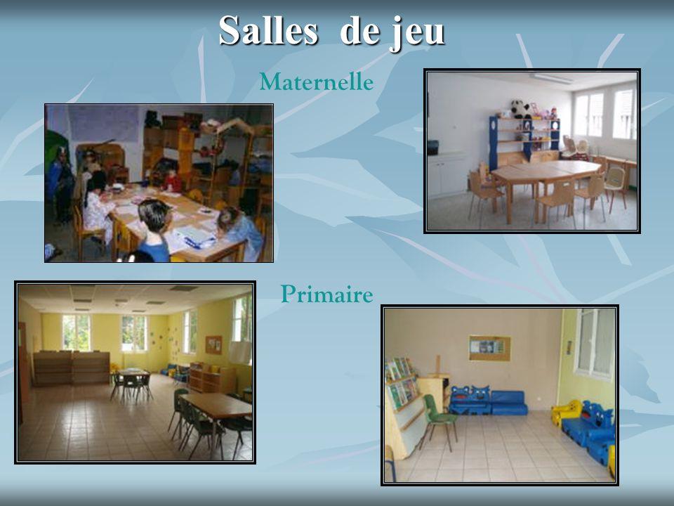 Salles de jeu Maternelle Primaire