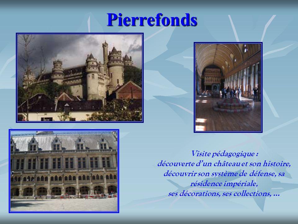 Pierrefonds Visite pédagogique :
