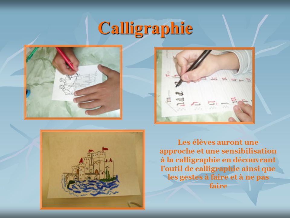 Calligraphie Les.