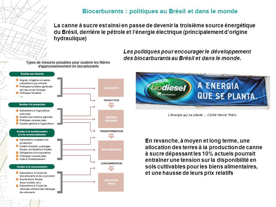 Biocarburants : politiques au Brésil et dans le monde