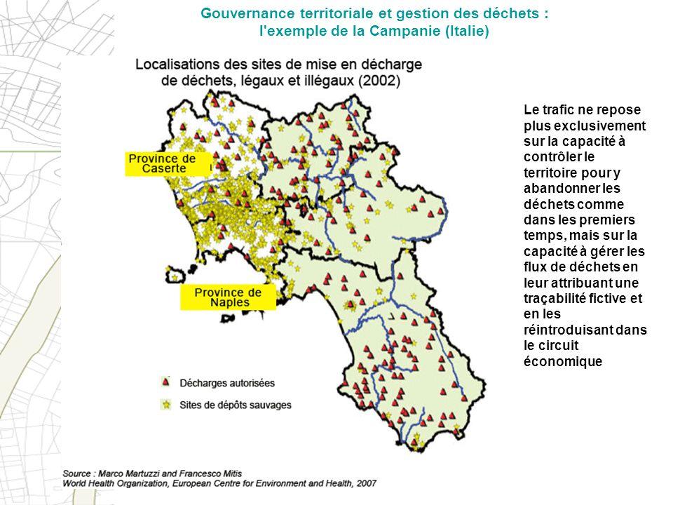 Gouvernance territoriale et gestion des déchets : l exemple de la Campanie (Italie)