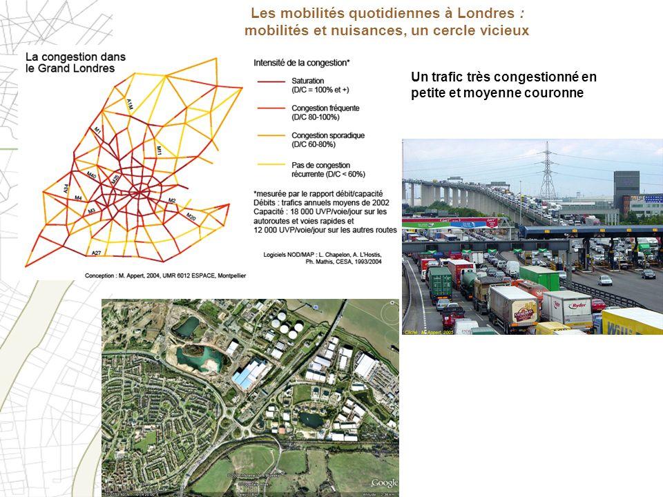 Les mobilités quotidiennes à Londres : mobilités et nuisances, un cercle vicieux