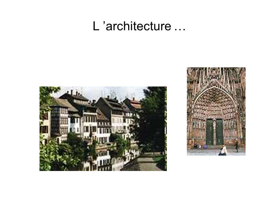 L 'architecture …