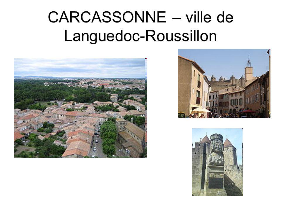 CARCASSONNE – ville de Languedoc-Roussillon