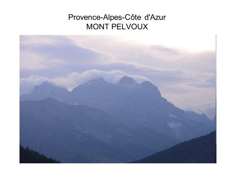 Provence-Alpes-Côte d Azur MONT PELVOUX