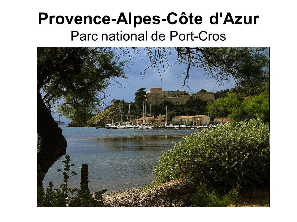 Provence-Alpes-Côte d Azur Parc national de Port-Cros