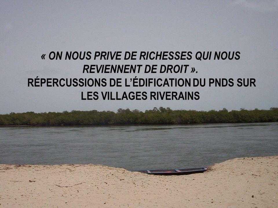 « ON NOUS PRIVE DE RICHESSES QUI NOUS REVIENNENT DE DROIT »
