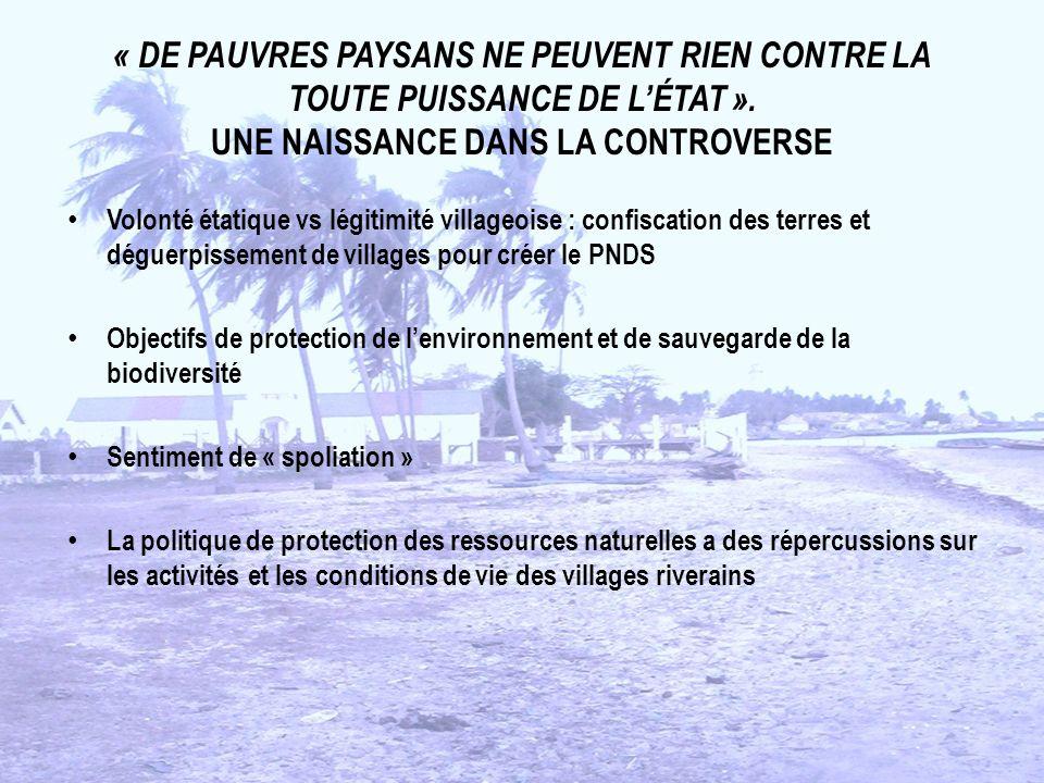 « DE PAUVRES PAYSANS NE PEUVENT RIEN CONTRE LA TOUTE PUISSANCE DE L'ÉTAT ». UNE NAISSANCE DANS LA CONTROVERSE