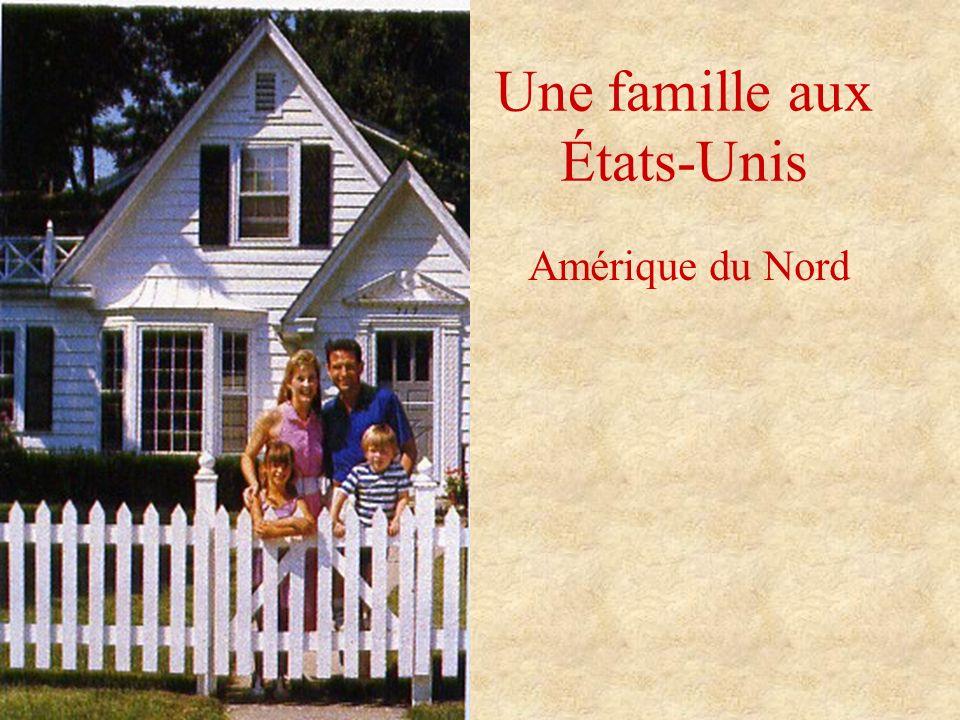 Une famille aux États-Unis