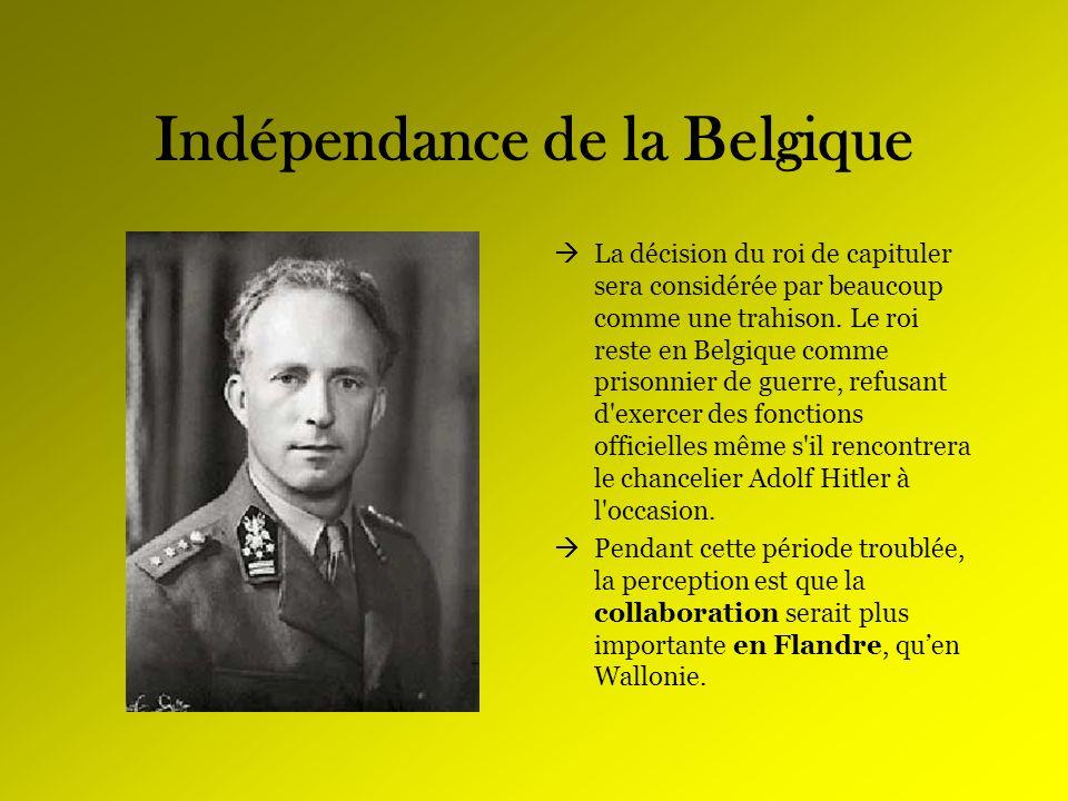 Indépendance de la Belgique