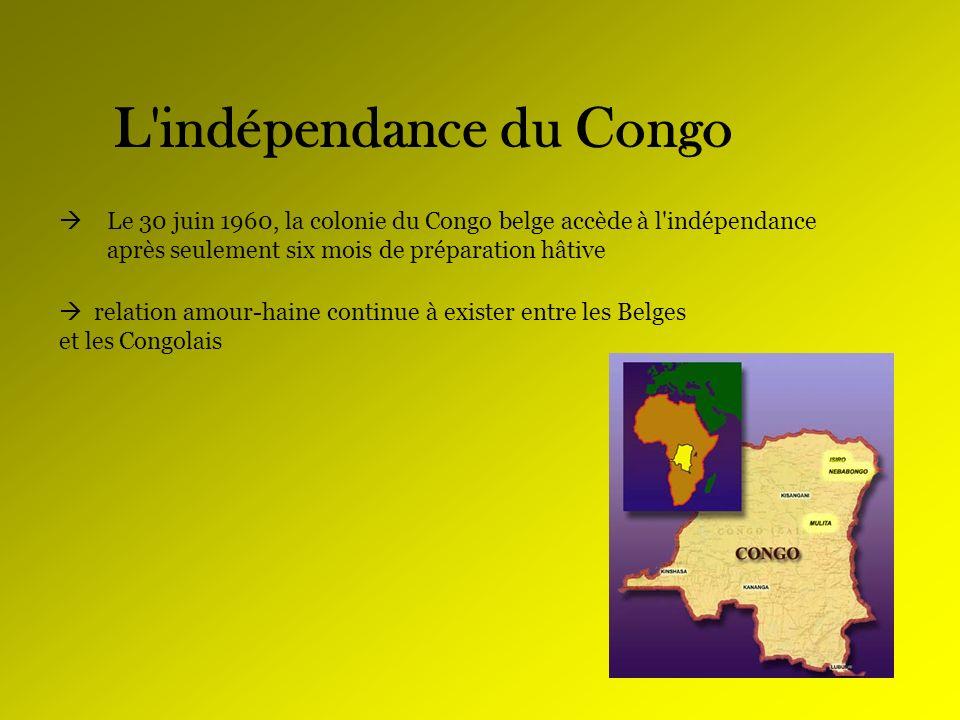 L indépendance du Congo