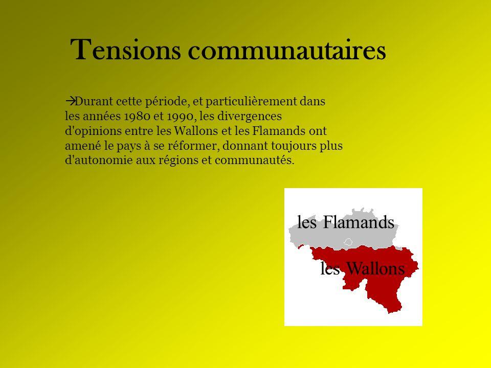 Tensions communautaires