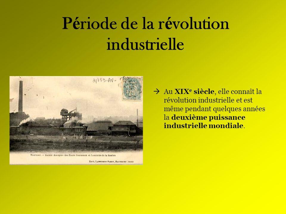 Période de la révolution industrielle