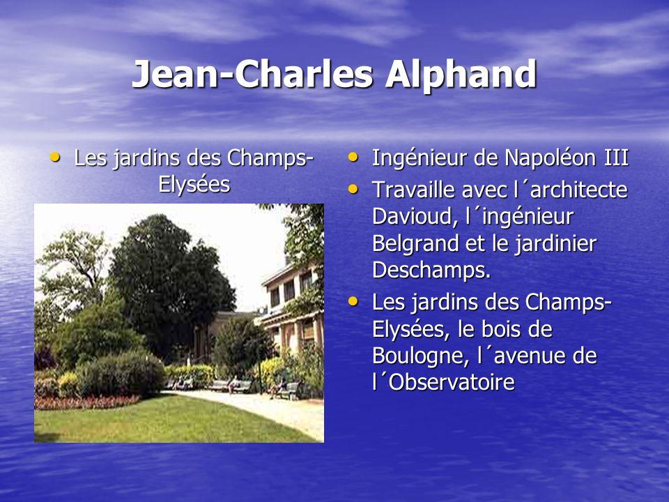 Les jardins des Champs-Elysées