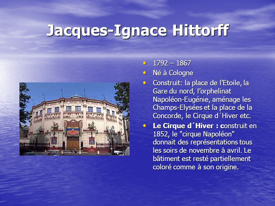 Jacques-Ignace Hittorff