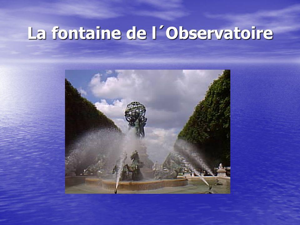 La fontaine de l´Observatoire