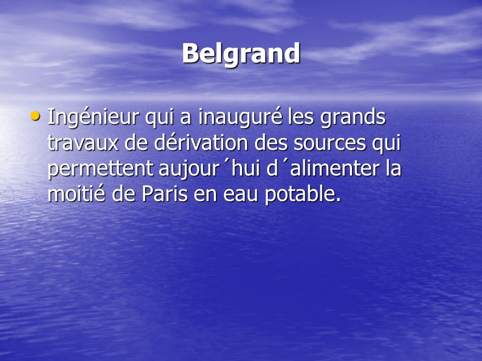 Belgrand