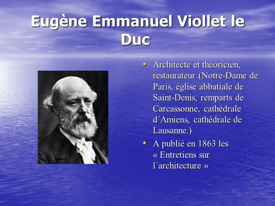 Eugène Emmanuel Viollet le Duc